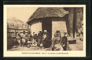 AK Basutoland, Un apostolat en famille, Missions du Sud-Afrique