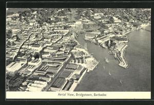 AK Bridgetown, Barbados, Aerial view, Fliegeraufnahme
