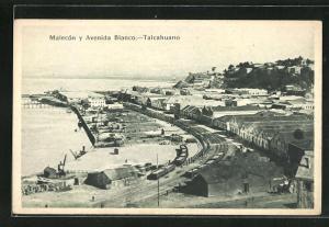 AK Talcahuano, Malecón y Avenida Blanco
