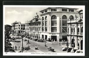 AK Colombo-Fort, Street Scene