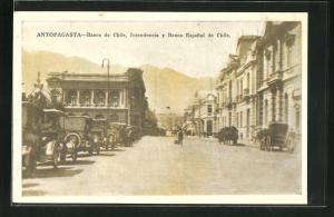 AK Antofagasta, Banco de Chile, Intendencia y Banco Espanol de Chile
