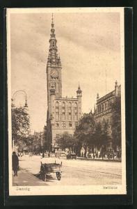 AK Danzig, Rathaus