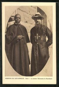 AK Basutoland, Missions du Sud-Afrique, Le premier Seminariste