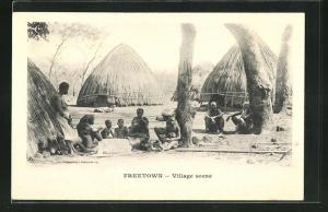 AK Freetown, Village scene