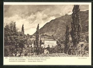 AK Vallees d`Andorre, Studio Radio Andorre