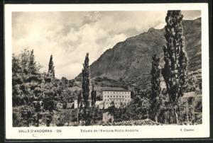 AK Valls d`Andorra, Estudis de l`Emisora Radio Andorra