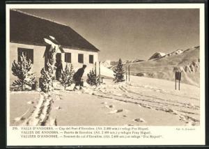 AK Vallees d`Andorre, Sommet du col d`Envalira et refuge Fra Miquel