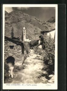 AK Canillo, Paisatge