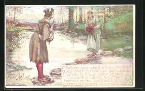 AK William Shakespeare, Twelfth Night Act II, scene 3: O Mistress mine where are you roaming?
