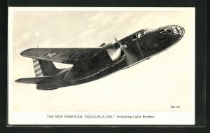 AK Flugzeug The New American Douglas A-20A, Attacking Light-Bomber
