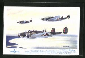 AK Flugzeug Lockheed Ventura, Light mid-wing Bomber