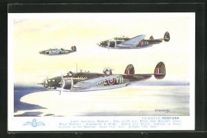 AK Lockheed Ventura Flugzeuge, Light mid-wing Bomber