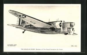 AK The Douglas Digby, Bomber der Royal Canadian Air Force