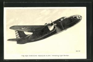 AK Flugzeug the new American Douglas A-20A, Attacking Light Bomber