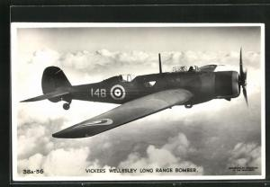 AK Vickers Wellesley Long Range Bomber