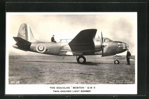 AK Douglas Boston D B 7 twin engined light Bomber