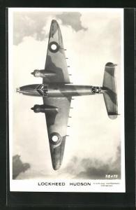 AK Lockheed Hudson Bomber der Royal Air Force