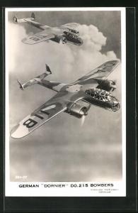 AK Dornier Do 215 Bomber der Luftwaffe