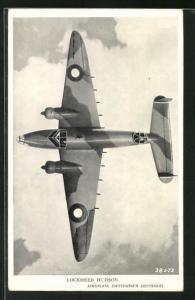 AK Britischer Bomber vom Typ Lockheed Hudson
