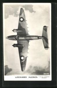 AK Royal Air Force Bomber vom Typ Lockheed Hudson