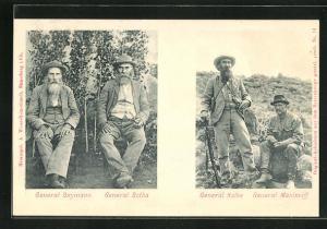 AK General Snymann und General Botha, General Kolbe und General Maximoff