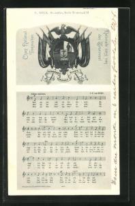AK Nationalhymne von Transvaal