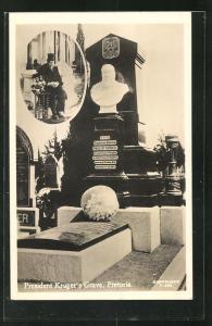 AK Pretoria, President Kruger`s Grave