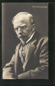 AK Portrait Komponist Prof. Christ. Sinding