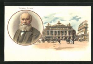 AK Portrait des Musikers Charles Gounod
