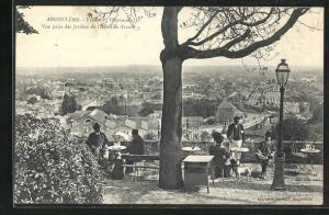 AK Angouleme, Vue prise des Jardins de l`Hotel de France