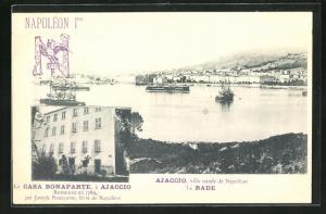 AK Ajaccio, Ville natale de Napoleon, La Rade
