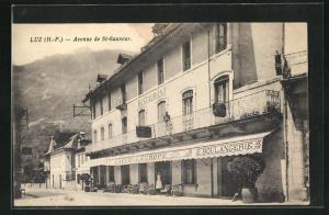 AK Luz, Avenue de St-Sauveur, Cafe l`Europe