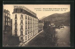 AK Lourdes, Nouvel Hotel et St-Louis de France