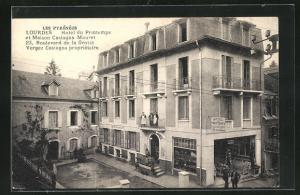 AK Lourdes, Hotel du Printemps et Maison Castagna Mouret