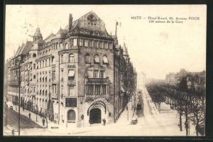AK Metz, Hotel Royal, 23, Avenue Foch