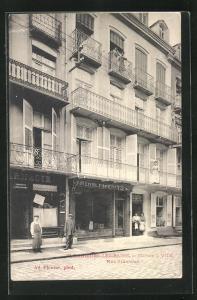 AK Plombieres-les-Bains, Maison I. Vite, Rue Stanislas