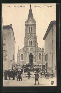 AK Vaugneray, L`Eglise