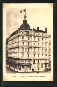 AK Lyon, Le Royal Hotel, Place Bellecour