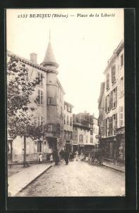 AK Beaujeu, Place de la Liberte
