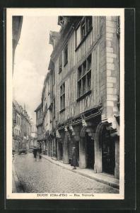 AK Dijon, Rue Verrerie, Strassenpartie