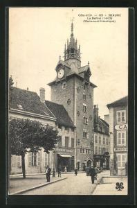 AK Beaune, Le Beffroi, Monument historique