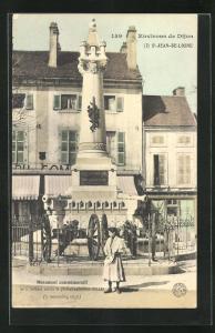AK St-Jean-de-Losne, Monument commemoratif de la Defense contre le general autrichien Gallas