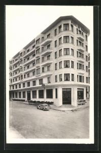AK Lourdes, Hotel de Padoue, Facade Principale