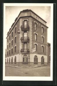 AK Lourdes, Victoria & Wilhelmina Hotel, rue Massabielle & rue Saint-Felix
