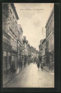 AK Cognac, Rue d`Angouleme, Strassenpartie