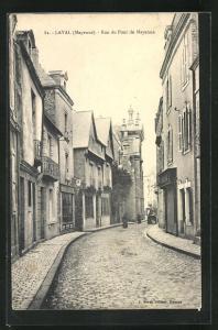 AK Laval, Rue du Pont de Mayenne, Strassenpartie