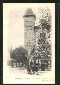AK Saint-Jean-de-Luz, La Maison Louis XIV.