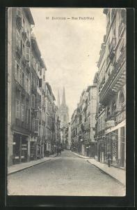 AK Bayonne, Rue Port-Neuf
