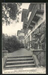 AK Saint-Jean-de-Luz, Hostellerie de Ciboure, Route Nationale 10