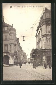 AK Dijon, Le Coin du Miroir - Rue de la Liberté